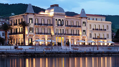 Poseidonion Grand Hotel, Dapia, Spetses 180 50, Greece.