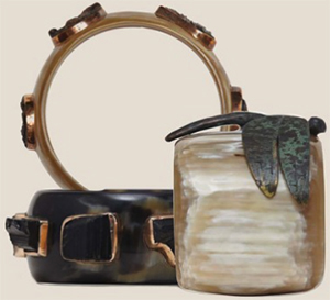 Holland & Holland Penny Winter Bangles: £750.