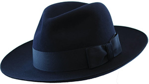 Christys' Classic Fedora is handmade in Britain and has a special lustre finish on its low crown and full brim: £125.