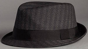 Dolce&Gabbana Pinstripe wool and cotton flat cap: US$475.