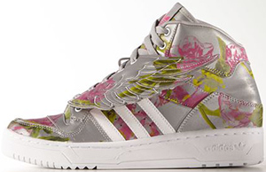 Adidas Wings Floral Shoe: US$220.