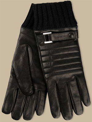 Trussardi Men's 100% Lambskin Gloves.