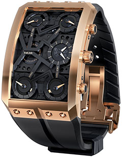 IceLink 18K Rose Gold Zermatt V.II Limited Edition Mechanical Skeleton Watch: US$97,500.