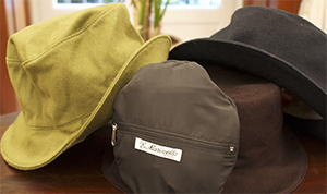 E.Marinella men's hats.