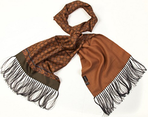 Edward Armah Handmade in Italy from 100% virgin wool men's scarf: US$225.