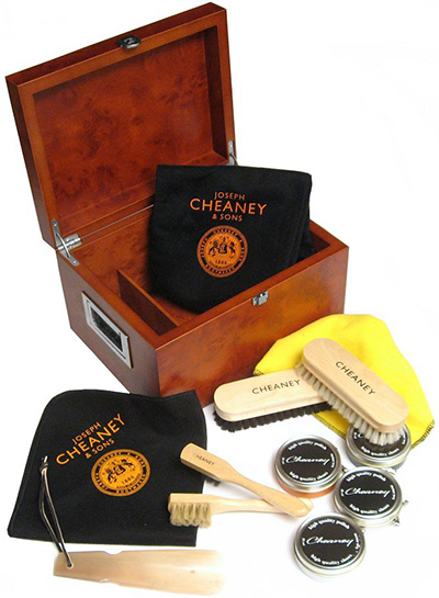Cheaney New Cheaney Wooden Valet Shoe Care Box: £150.