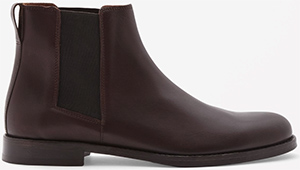 COS Chelsea Men's Leather Boots: US$225.