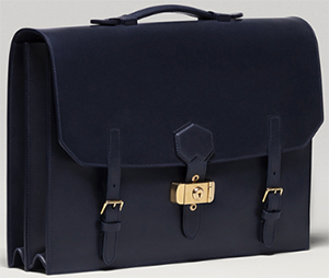 Dunhill Duke Flap Briefcase: £2,250.