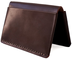 Makr Two exterior pockets and two interior pockets wallet: US$230.