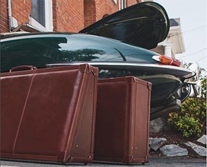 Bespoke Luggage - 'American Made Luxury Goods for the Discerning Mind'.