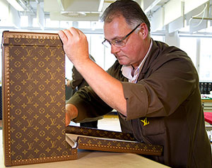 Louis Vuitton customization.
