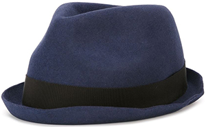Dsquared2 contrasting band men's trilby hat: £205.