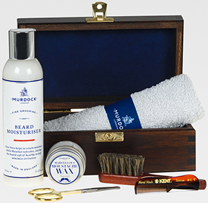 The Murdock Marvellous Beard and Moustache Box: £80.
