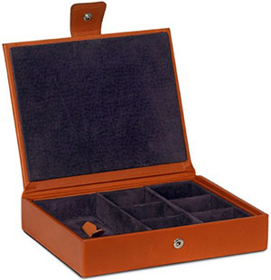 Pickett Seven Section Cufflink and Jewellery Box: £235.