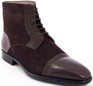 Sapataria do Carmo Boots Mariano Brown Suede and Leather: €235.