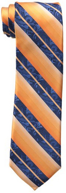 Steve Harvey Men's Tall Ornate Fancy Stripe Tie and Pocket Square Set: US$24.79.