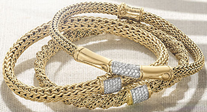 John Hardy Women's Gold Jewellery.