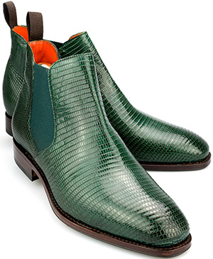 Carmina Chelsea Ankle Boots in Brown Lizard: €526.