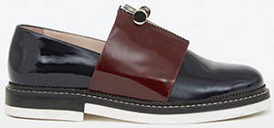 Carven Women's Patent Zipped Shoes: US$760.