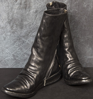 Carol Christian Poell One-Piece 'U' Sole, 'Goodyear' Men's Boots: €1,750.