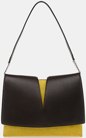 Jil Sander shoulder bag: €1,250.