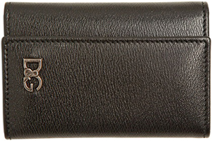 Dolce&Gabbana Texturized Leather Men's Key Holder: US$245.