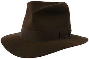Indiana Jones' Hat - 'The Poet Hat': £245.