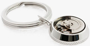 Tateossian Automatic Skeleton Gear Key Ring: €245.