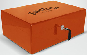 50th Anniversary Limited Edition Sautter Humidor (Orange): £250.