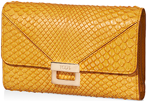 Tod's Grey Women's Python Wallet.