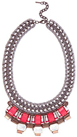 Karen Millen Statement Necklace: US$140.