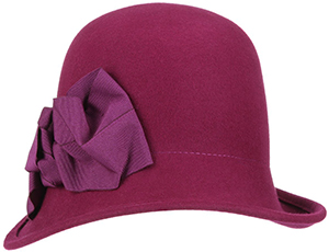 Hatshopping.com Cloche Hat with Loop by bedacht: €89.95.
