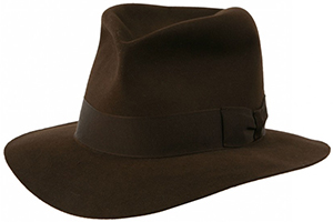 Herbert Johnson The Poet Hat as worn by the one and only Indiana Jones: £245.
