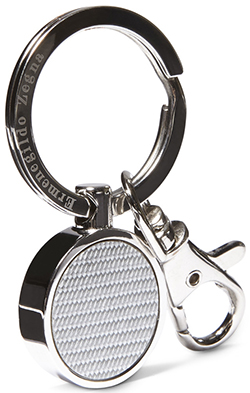 Ermenigildo Zegna men's key holder: US$190.