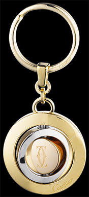 Cartier Key Ring with Trinity de Cartier Decor: US$485.