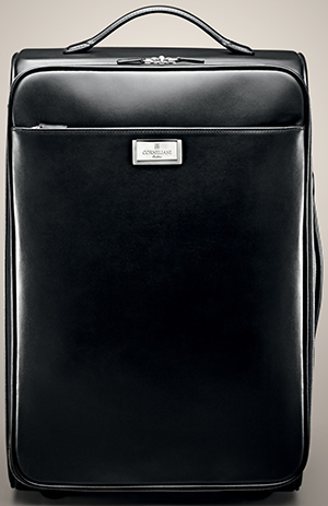 Corneliani Nappa Calfskin Carry-On Case.