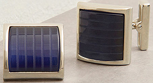 Kenneth Cole Blue Candy Striper cufflinks: US$39.99.