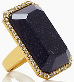 Kate Spade Night Sky Jewels Cocktail Ring: US$69.
