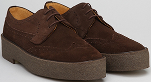 Playboy Original Brogue-Brown Suede men's shoe: €264.
