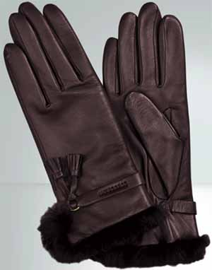 Longchamp Women's Pénélope Gloves: US$265.