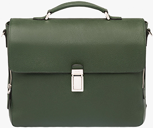 Prada Calf leather men's briefcase with contrasting piping: €1,900.