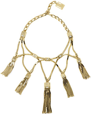 Lanvin Plastron pendant necklace: US$2,290.