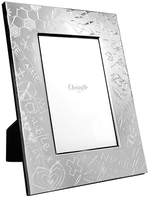 Christofle Graffiti Picture Frame: US$320.