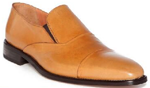 Donald J. Pliner Catton Burnished Leather Slip-On: US$275.