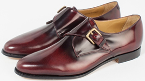 Billy Reid Brown Single Monk Straps Women's Shoes: US$279.