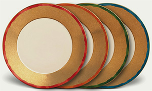 Fortuny Dinner Plates (Set of 4): €390.