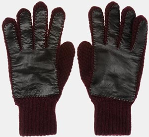 Jill Sander men's driving gloves in lamb leather: €290.