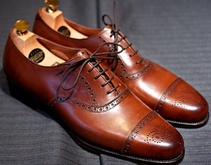 Alan Flusser custom made shoes.