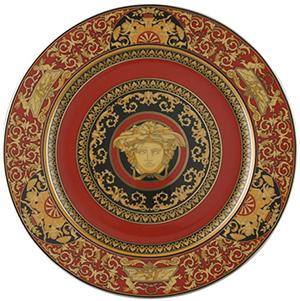 Rosenthal Versace Ikarus Medusa Versace Service Plate, 12 inch: US$295.