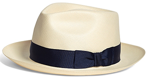 Brooks Brothers Straw Fedora: US$298.